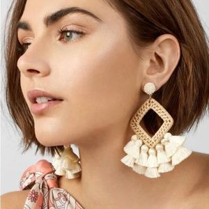 EARRINGS | Tassel Geometric Dangle Earrings